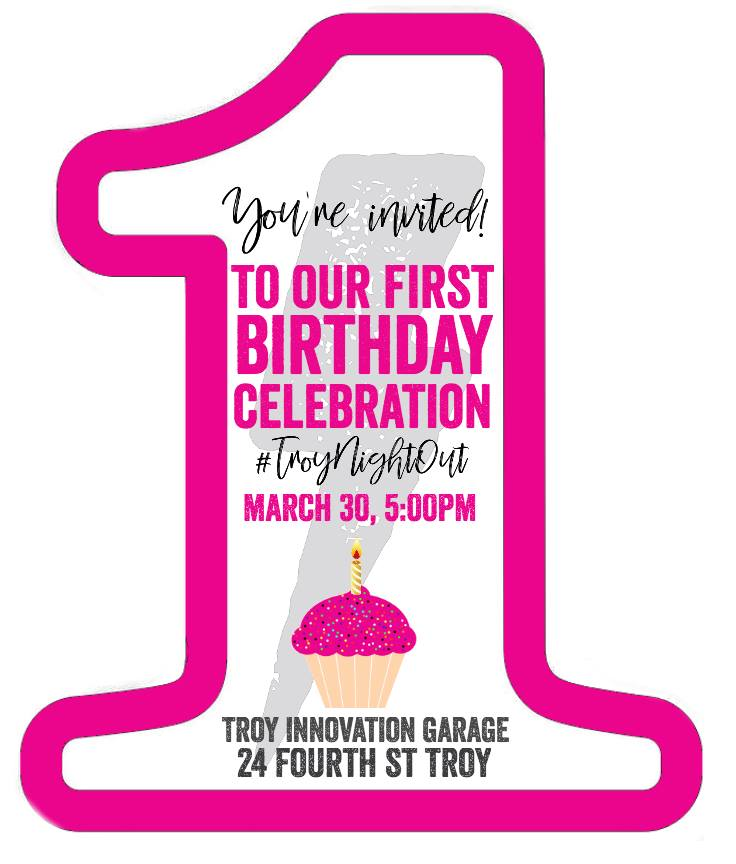 1st Birthday Celebration invite